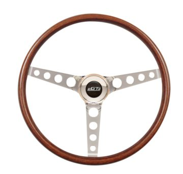 14-4337 GT3 Classic Wheel, Wood, Hole Spokes - GT Performance