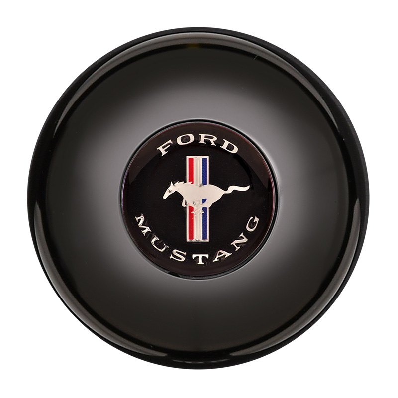 Gt9 Large Chevy Bowtie Aluminum Horn Button: GT9 Small Colored Chevy